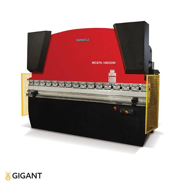 Гидравлическая листогибочная машина (пресс) ORK WC67K-100/3200