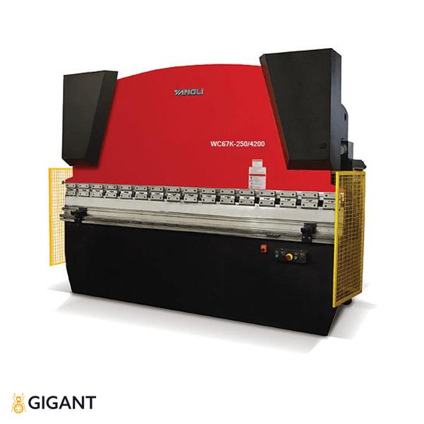 Гидравлическая листогибочная машина (пресс) ORK WC67K-250/4200