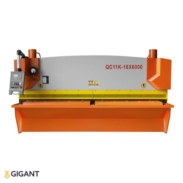 Гильотина гидравлическая STALEX QC11K-16x6000